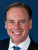 Official portrait of Greg Hunt